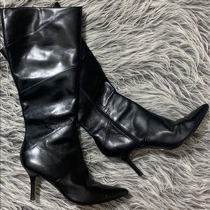 Nine West Black Dress Boots